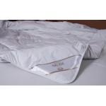 Decke Steppbett Natur 135x200 100% Alpaka Wolle 950g Füllung Baumwolle Batist Neu Öko Tex Standard 100