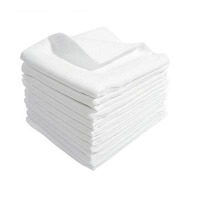 10er Stoffwindeln Spucktücher Mullwindeln 70 x 80 cm Weiß NEU