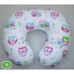 Baby Stillkissen inkl. Bezug, Lagerungskissen Kissen für Baby