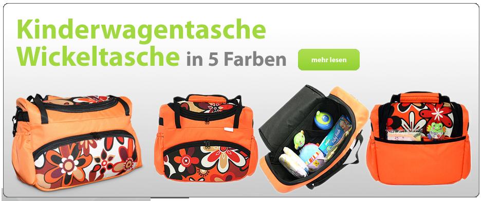 Kinderwagentasche Wickeltasche in 5 Farben